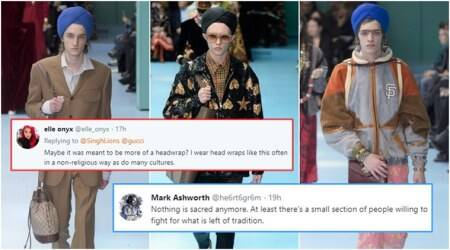 Gucci uses Sikh turbans as fashion accessory on the ramp; Twitterati start a debate
