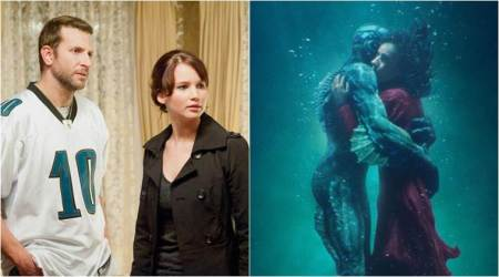 Stills from Silver Linings Playbook and The Shape of Water
