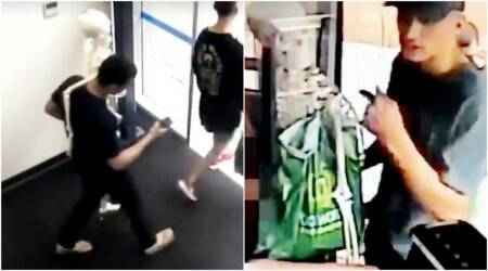VIDEO: 3 suspects, 1 skeleton, a bus ride and a huge robbery scam
