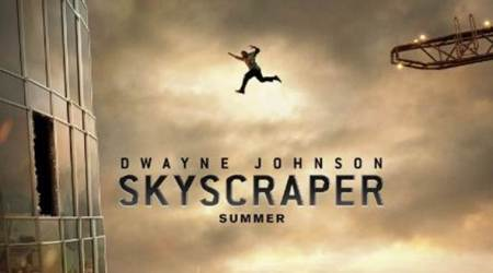 Skyscraper teaser: Dwayne Johnson is 'trapped' in this first look of the movie