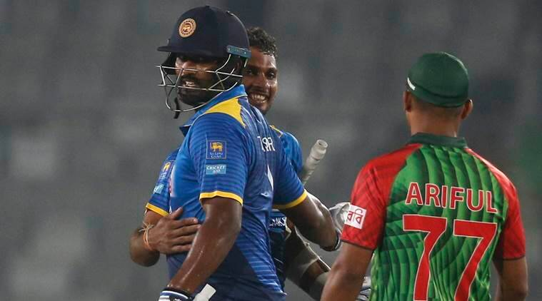 Gunaratne ruled out of T20 series against Bangladesh