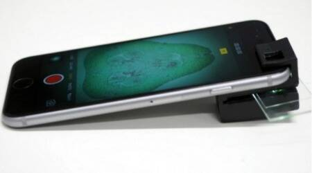 3D-printed 'clip-on' turns smartphone intomicroscope