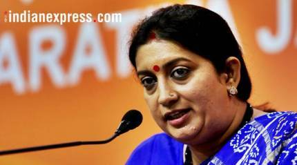 BJP to work for women if voted to power in Meghalaya: SmritiIrani