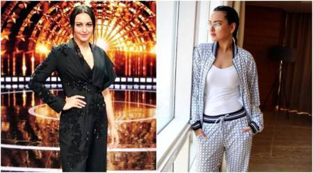 Sonakshi Sinha in a jumpsuit or checkered tracksuit: Which one do you prefer?