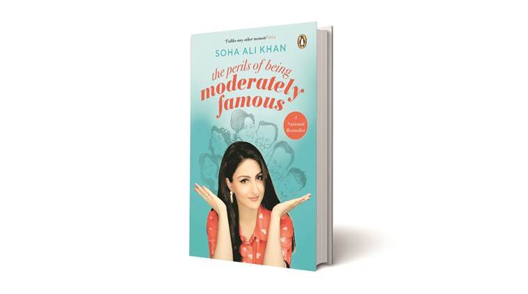 soha ali khan, book review, perils of being moderately famous book, books by bollywood actresses, indian express
