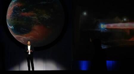 Broadband from space, SpaceX broadband satellites, US FCC, Elon Musk SpaceX, Ajit Pai FCC, fiber optic cables, internet service providers, Tesla, mobile towers, space technology, low-Earth orbit satellites