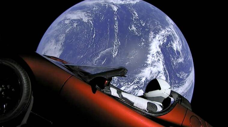 Elon Musk's space-bound Tesla Roadster likely to collide with Earth, Venus:Study
