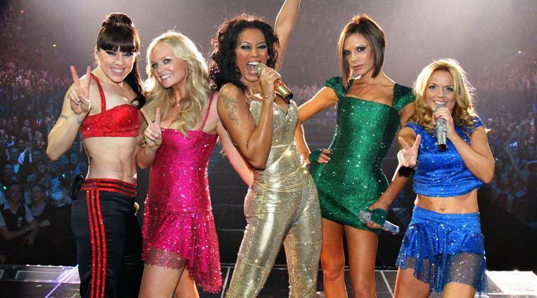 Spice Girls split in 2000 and last reunited at the 2012 London Olympics