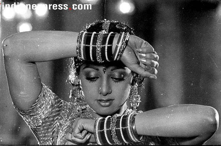 Smriti Irani's ode to her favourite actor Sridevi