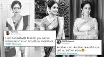'Can't believe Sridevi is no more': Fans in shock, mourn the loss of Bollywood legend on social media