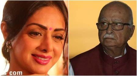 L K Advani expresses grief over Sridevi's demise