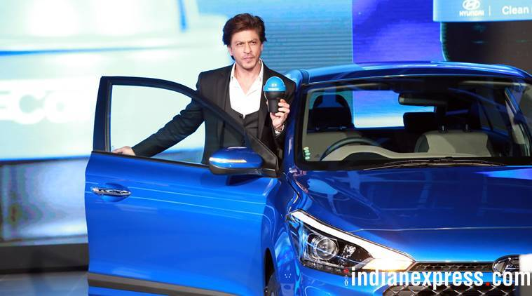 Shah Rukh Khan at Auto Expo 2018