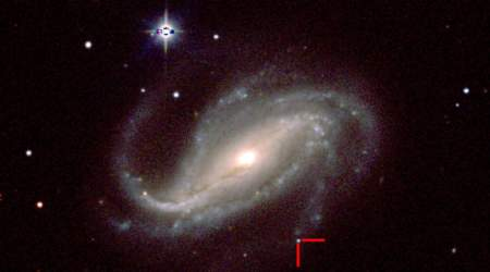 Amateur astronomer spots rare first light from exploding star