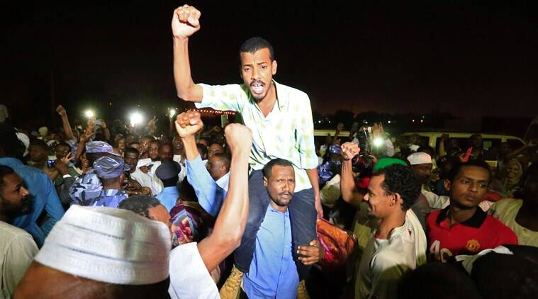 sudan prisoners released, sudan political prisoners released, sudan, khartoum, Omar Hassan al-Bashir, world news, indian express news
