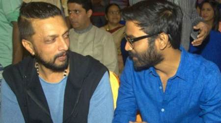 Dhanush signs Sudeep for his next directorial outing?