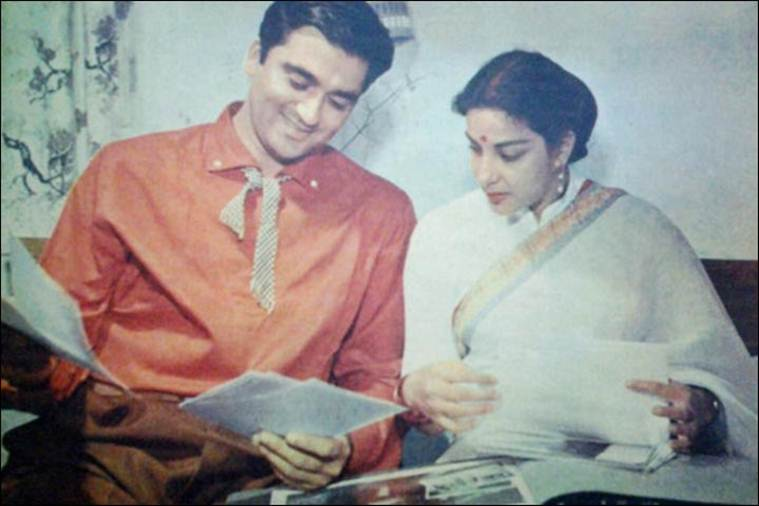 nargis and sunil dutt