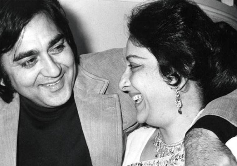 valentines day, nargis and sunil dutt