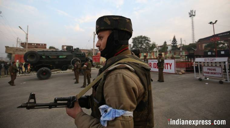 While security agencies expected an attack in Kashmir Valley, the terrorists carried out the strike in Jammu on Saturday. (Express photo/Praveen Khanna)