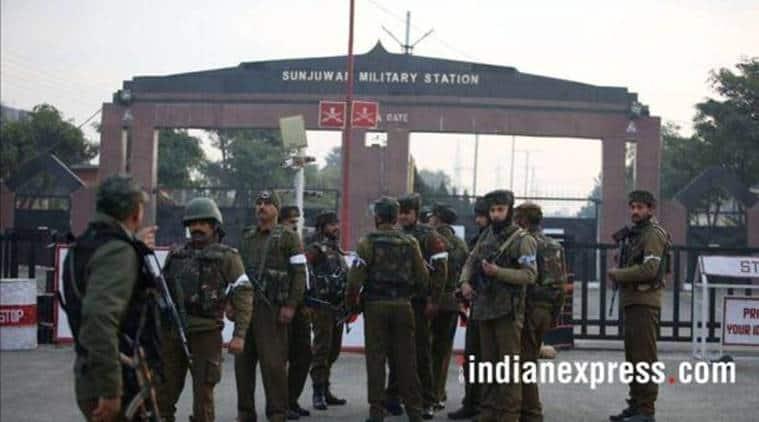 Sunjwan Army camp attack, Sunjwan military station attack, Sunjwan Army base, Sunjwan Army camp terrorist attack, Sunjwan Army camp militant attack, terrorist attack Sunjwan Army camp, militant attack Sunjwan Army camp, India News, Indian Express, Indian Express News