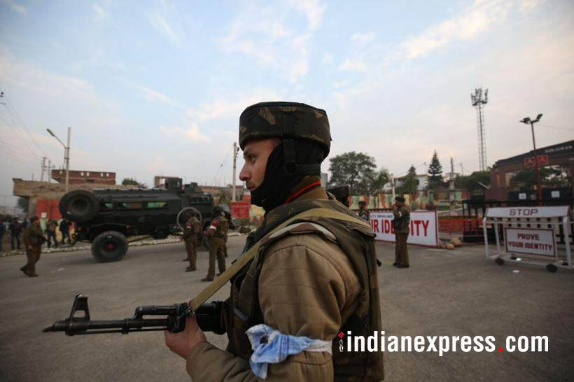 Two killed in ongoing attack on Indian military camp in IoK