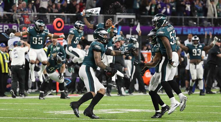 Eagles soar past Patriots for first Super Bowl crown