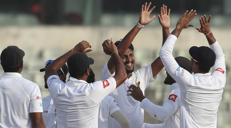 Bangladesh are playing the second Test against Sri Lanka in Dhaka.