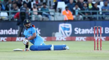 Suresh Raina makes his intent clear with clean hitting against South Africa