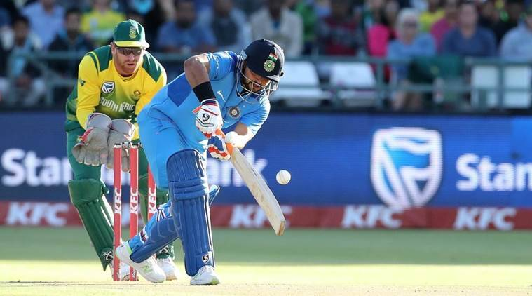 India beat South Africa by 7 runs at Newlands.