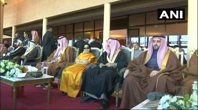 Sushma Swaraj in Saudi Arabia