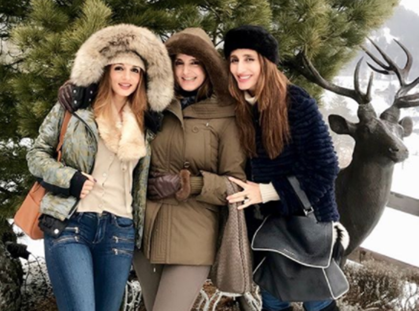 Sussanne Khan vacation