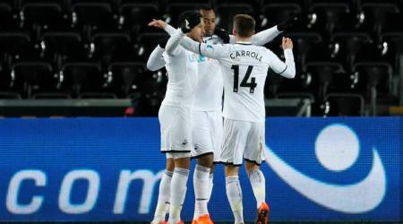 Swansea City reach FA Cup quarters for first time in 54years