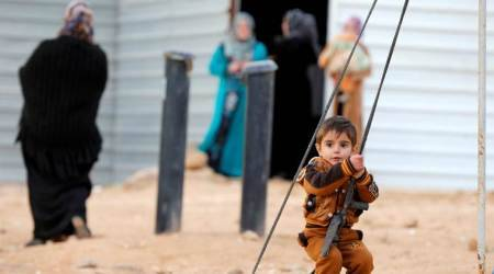 The pain of Syrian refugees: Parents try to forget as children cling to lostpast