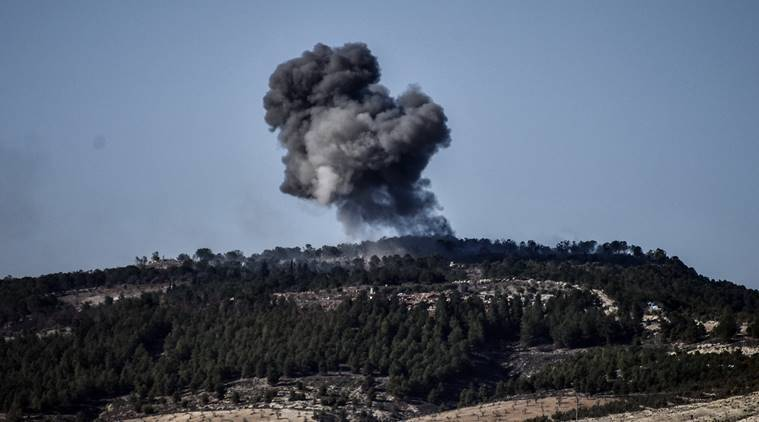 Dozens killed as weapons depot explodes in Syria