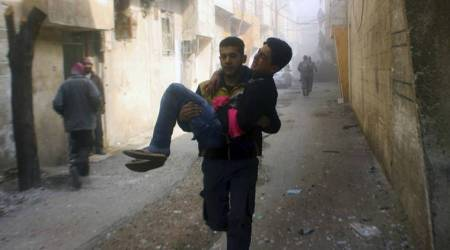Syrian rebel group agrees to evacuation of wounded from Ghouta