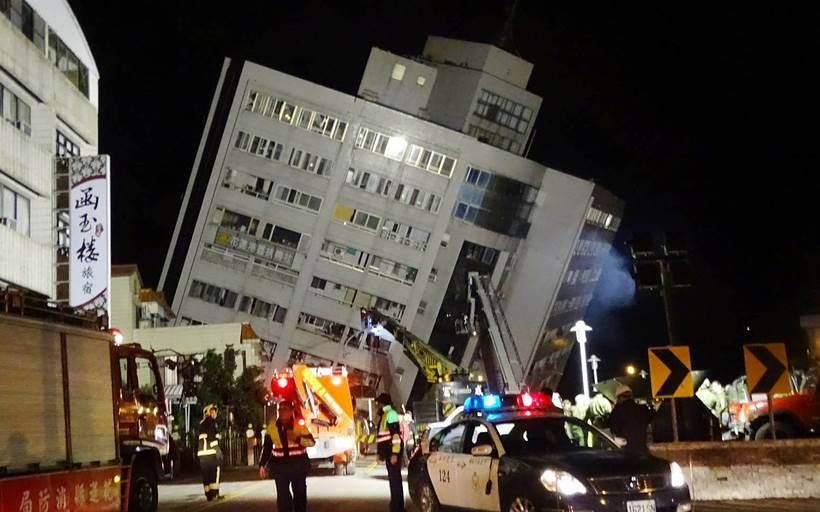 2 dead after 6.4 magnitude earthquake hits Taiwan