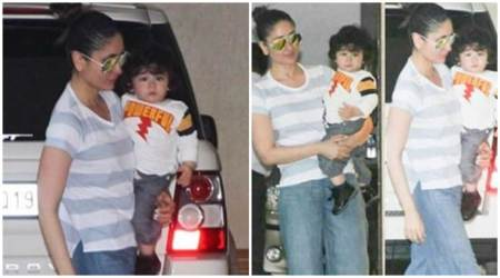 Photos: Tamiur Ali Khan's day out with momma Kareena Kapoor Khan is his best weekend activity