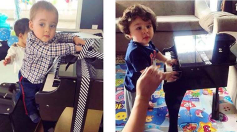 Taimur Ali Khan and Yash are budding pianists; Karan Johar shares proof!