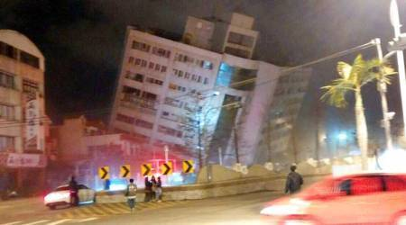 At least two killed, 214 injured in magnitude 6.4 Taiwan earthquake