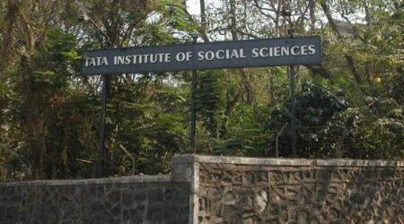 TISS students protest aidwithdrawal