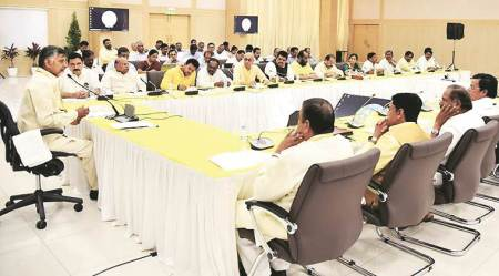 Disrupt House, put pressure on Centre, BJP ally TDP tells MPs
