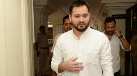 Tejashwi Yadav clears first test without Lalu Prasad