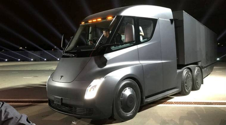Tesla S Semi Truck Charging Terminals Being Created Through Pepsico Ups Collaborations Technology News The Indian Express