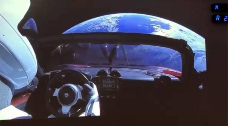 SpaceX Falcon Heavy launch: Tesla Roadster in space, but ...