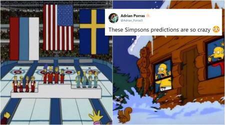 Winter Olympics 2018: The Simpsons predicted not one but two events at PyeongChang