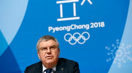 IOC president meets North Korean leader Kim