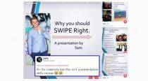 'A+ for creativity': This guy's hilarious Tinder PowerPoint presentation gets him 10/10 for effort