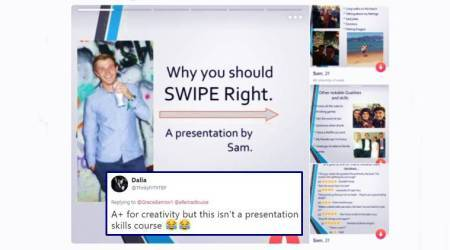 'A+ for creativity': This guy's hilarious Tinder PowerPoint presentation gets him 10/10 foreffort