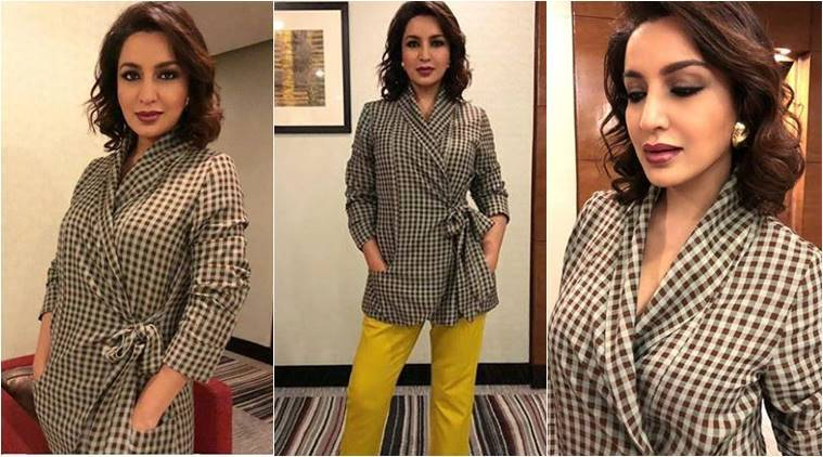 Tisca Chopra, Tisca Chopra latest photos, Tisca Chopra fashion, Tisca Chopra Chhuri promotions, Tisca Chopra pantsuit, Tisca Chopra contemporary style
