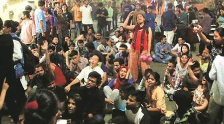 Second day of protest in TISS: Students boycott classes, first semester paper cancelled