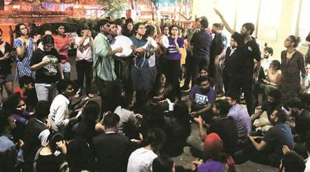 TISS students refuse to give in till demands are met